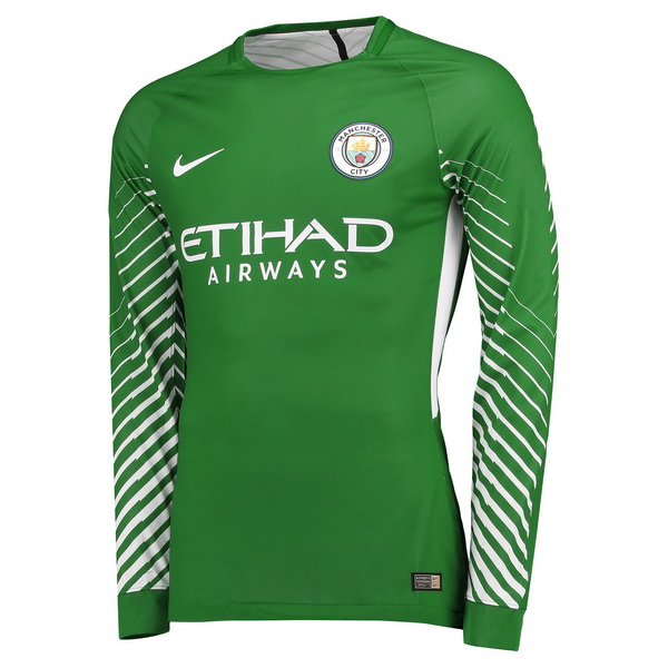 Camiseta ML Portero Manchester City 2017 2018 Verde