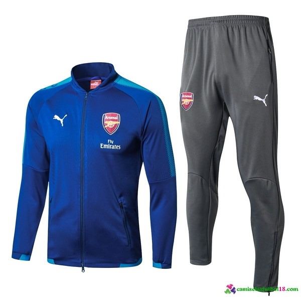 Chandal Arsenal 2017 2018 Azul Marino