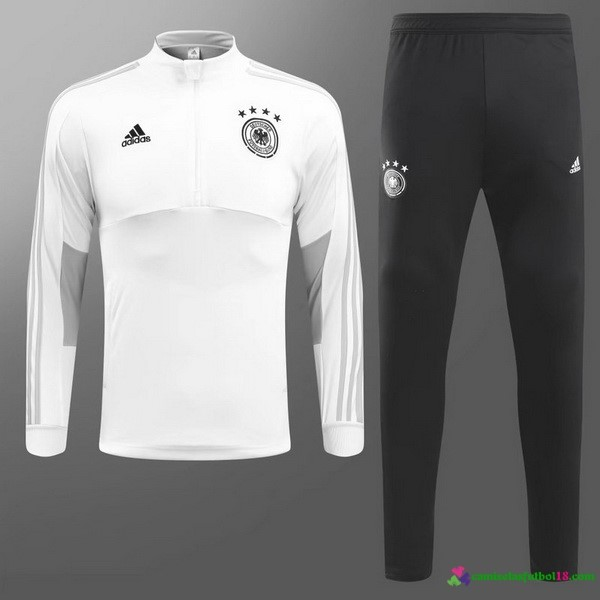 Chandal Alemania 2018 Blanco Negro