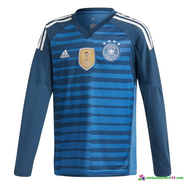 Camiseta 1ª Kit ML Portero Alemania 2018 Azul