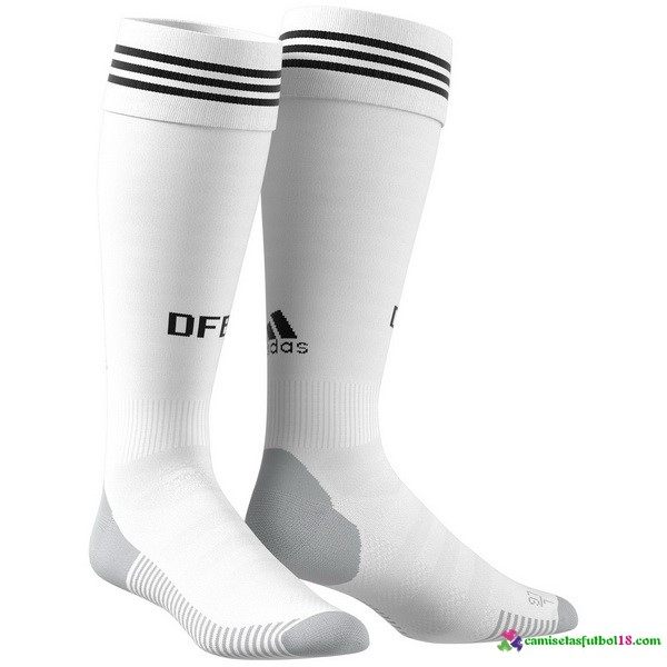 Calcetines 1ª Kit Alemania 2018 Blanco