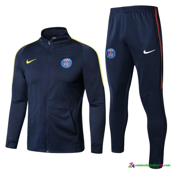Chandal Paris Saint Germain 2017 2018 Azul Amarillo