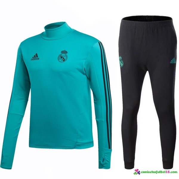 Chandal Real Madrid 2017 2018 Verde Marino Negro