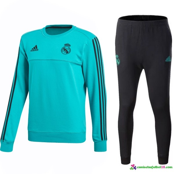 Chandal Real Madrid 2017 2018 Verde Negro Marino
