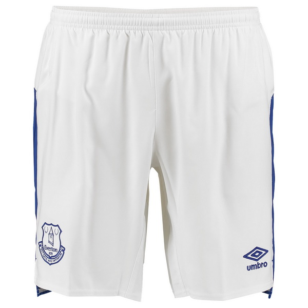 Pantalones 1ª Kit Everton 2017 2018 Blanco