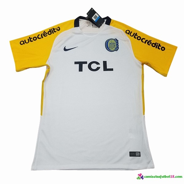 Camiseta 2ª Kit Rosario Central 2018 2019 Amarillo