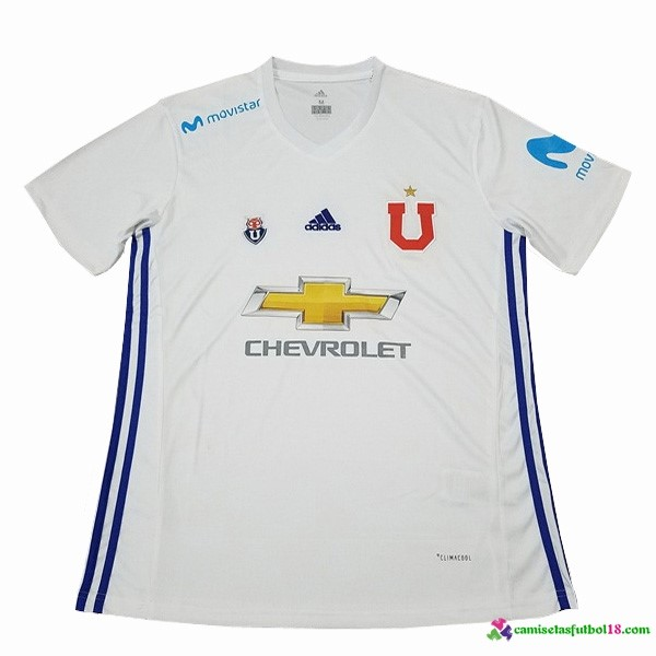 Camiseta 2ª Kit Universidad De Chile 2017 2018 Blanco