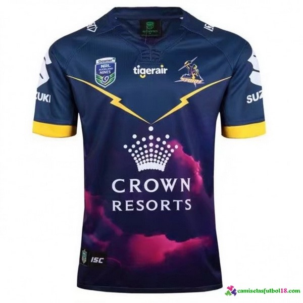 Camiseta Rugby Melbourne Storm 2017 Azul