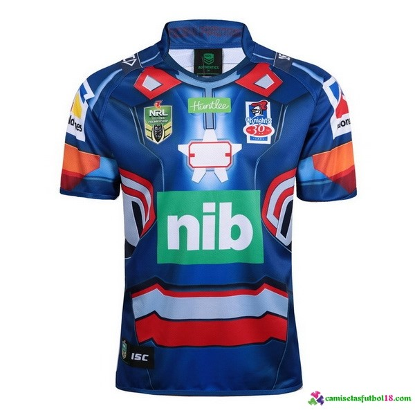 Camiseta Rugby Newcastle Knights 2017 Azul