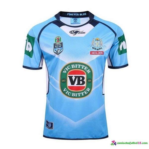 Camiseta Rugby Prima NSW Blues 2017 Azul