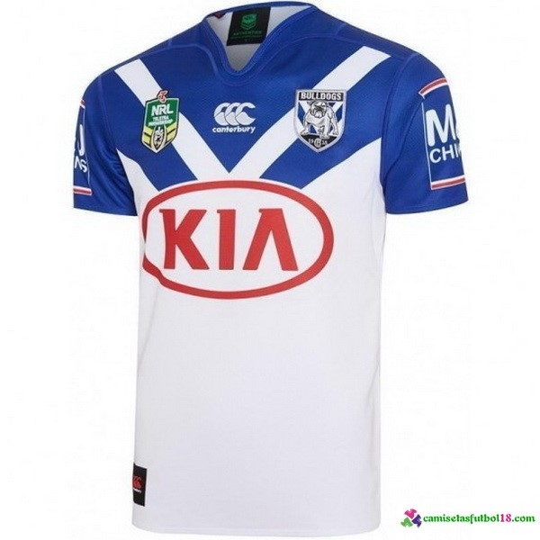 Camiseta Rugby 1ª Bankstown Bulldogs 2017 Blanco