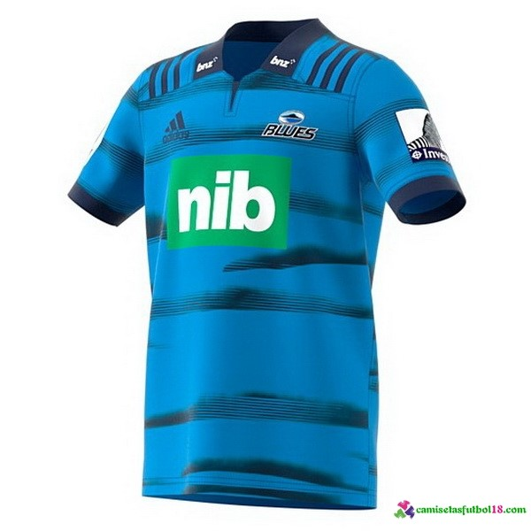 Camiseta Rugby 1ª Blues 2018 Azul