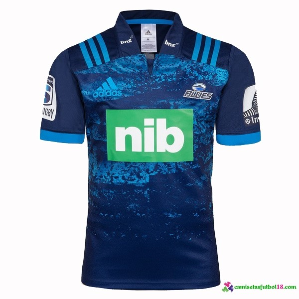 Camiseta Rugby 2ª Blues 2018 Azul