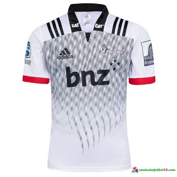 Camiseta Rugby 2ª Crusaders 2018 Blanco