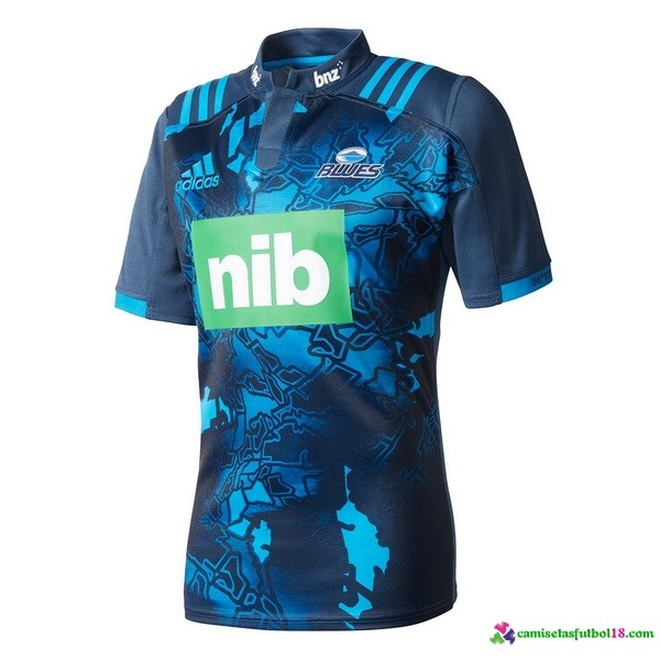 Camiseta Rugby Territorio Blues 2017 Azul