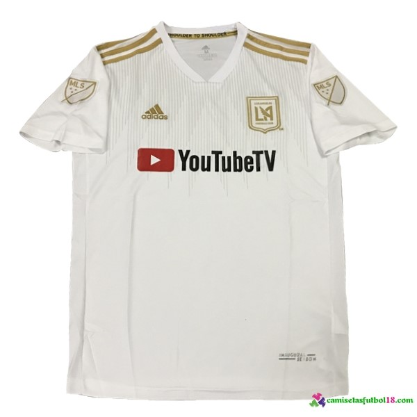Camiseta 2ª Kit Los Angeles Galaxy 2018 2019 Blanco