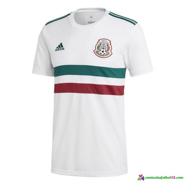 Camiseta 2ª Kit México 2018 Blanco