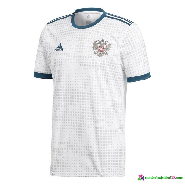 Camiseta 2ª Kit Rusia 2018 Blanco