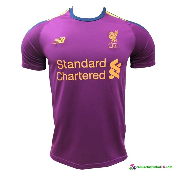Camiseta 3ª Kit Liverpool 2018 2019 Purpura