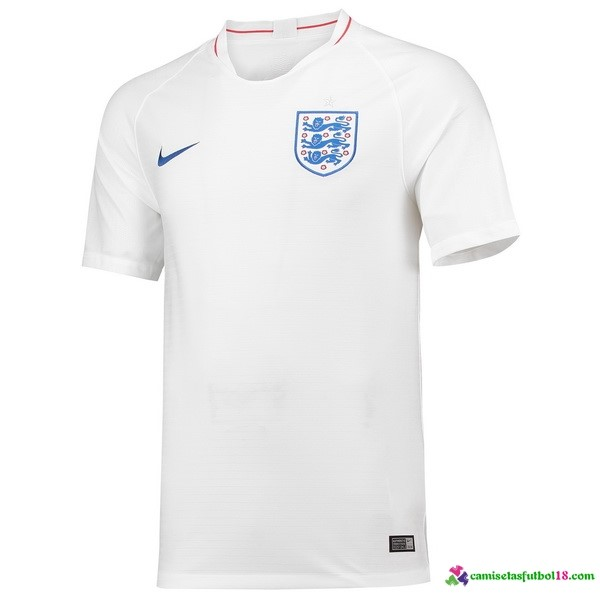 Camiseta 1ª Kit Inglaterra 2018 Blanco