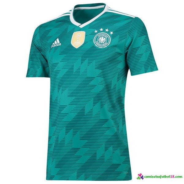 Camiseta 2ª Kit Alemania 2018 Verde