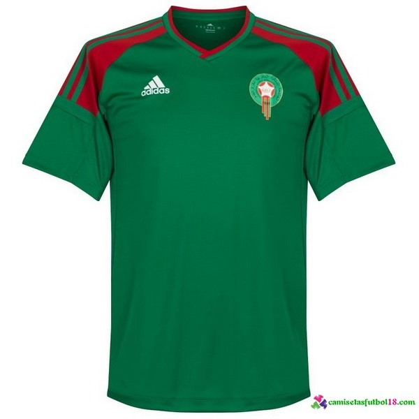 Camiseta 3ª Kit Marruecos 2018 Verde