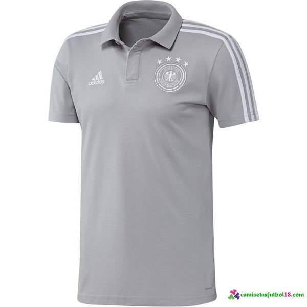 Polo Alemania 2018 Gris