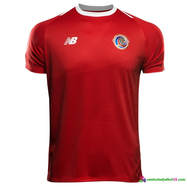Camiseta 1ª Kit Costa Rica 2018 Rojo
