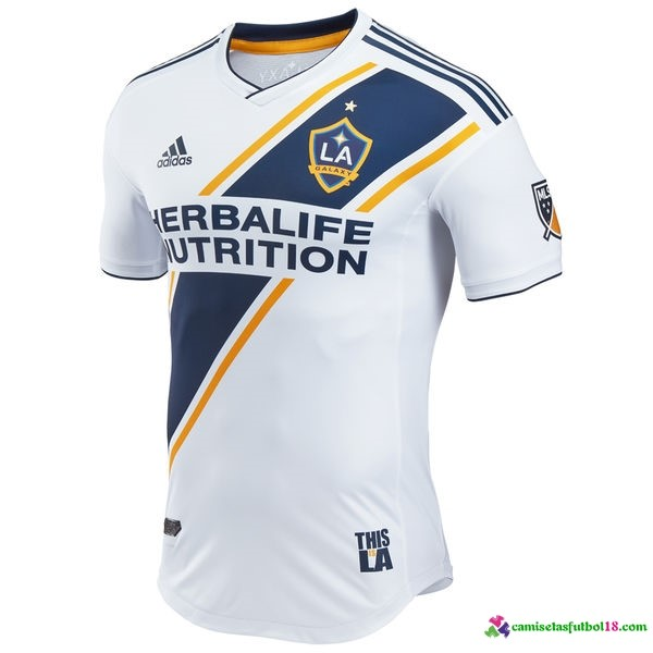 Camiseta 1ª Kit Los Angeles Galaxy 2017 2018 Blanco