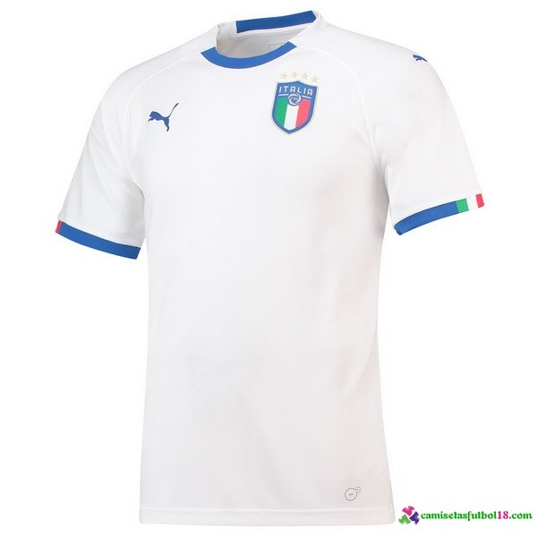 Camiseta 2ª Kit Italia 2018 Blanco
