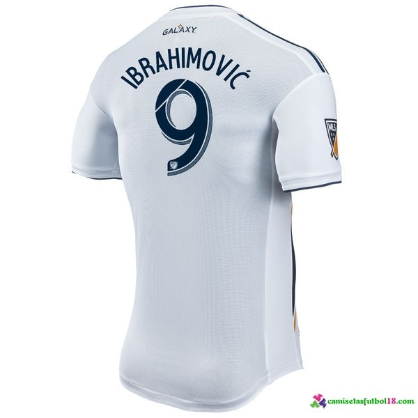 Ibrahimović Camiseta 1ª Kit Los Angeles Galaxy 2017 2018 Blanco