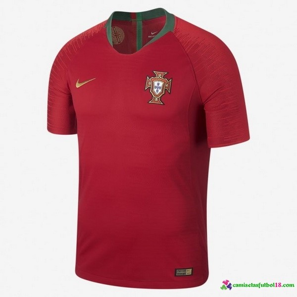 Camiseta 1ª Kit Portugal 2018 Rojo