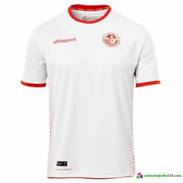 Camiseta 1ª Kit Túnez 2018 Blanco
