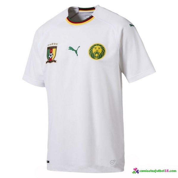Camiseta 2ª Kit Camerún 2018 Blanco