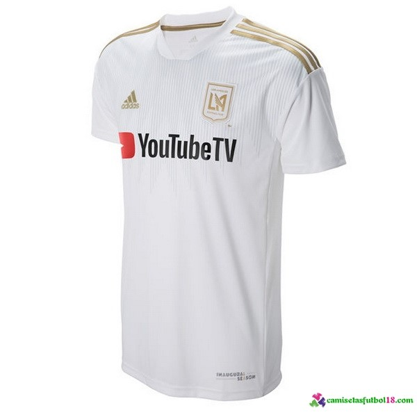 Camiseta 2ª Kit LAFC 2018 2019 Blanco