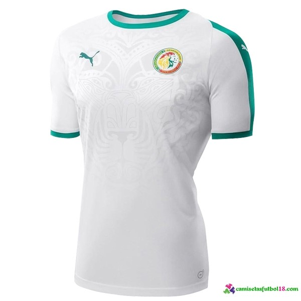 Camiseta 2ª Kit Senegal 2018 Blanco