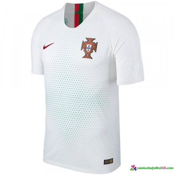 Tailandia Camiseta 2ª Kit Portugal 2018 Blanco