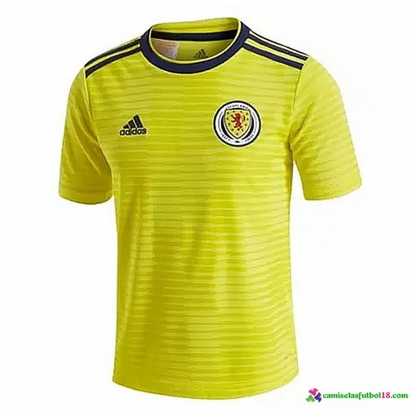 Camiseta 2ª Kit Escocia 2018 Amarillo