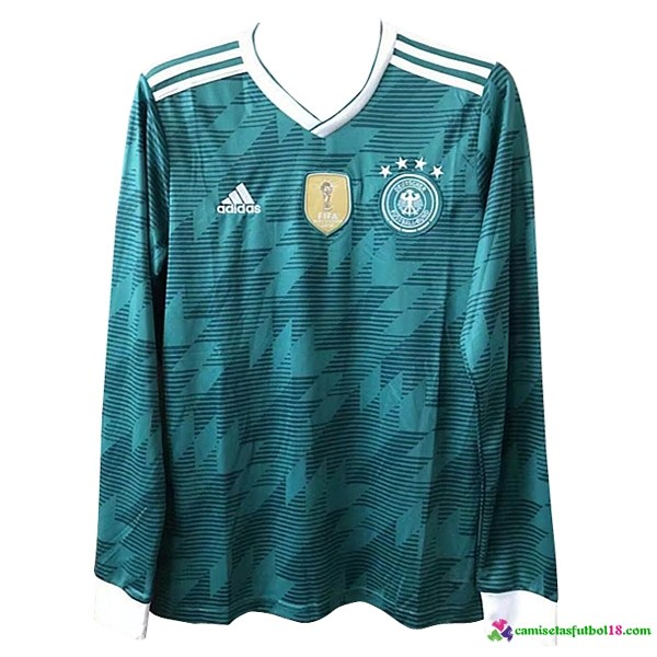 Camiseta 2ª Kit Alemania ML 2018 Verde