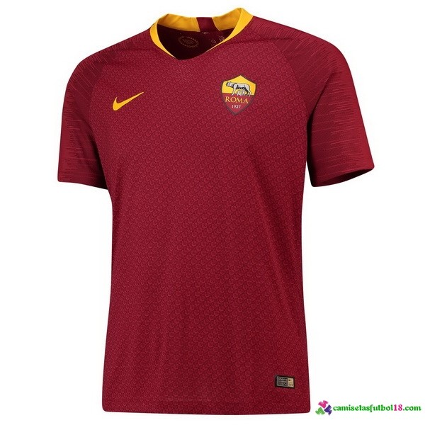 Camiseta 1ª Kit As Roma 2018 2019 Rojo