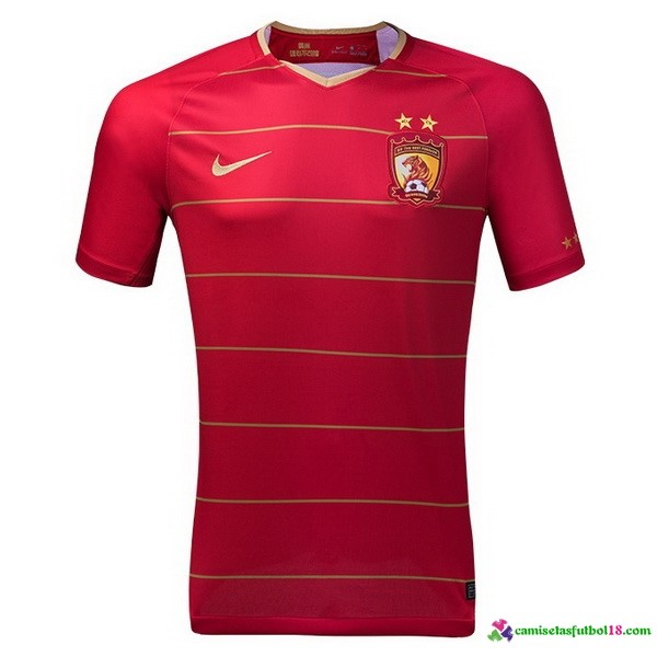 Camiseta 1ª Kit Evergrande 2018 2019 Rojo