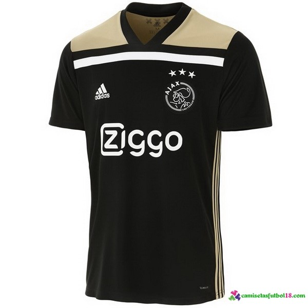 Camiseta 2ª Kit Ajax 2018 2019 Negro