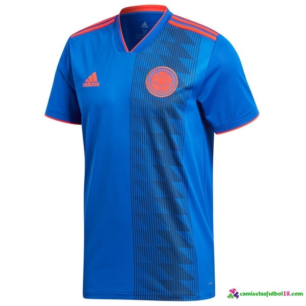 Camiseta 2ª Kit Colombia 2018 Azul
