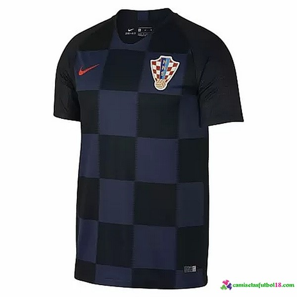 Camiseta 2ª Kit Croatia 2018 Azul