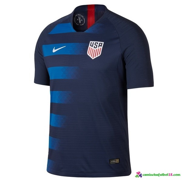 Camiseta 2ª Kit Estados Unidos 2018 Azul
