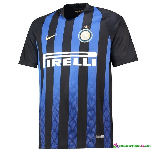 Camiseta 1ª Kit Inter de Milán 2018 2019 Azul