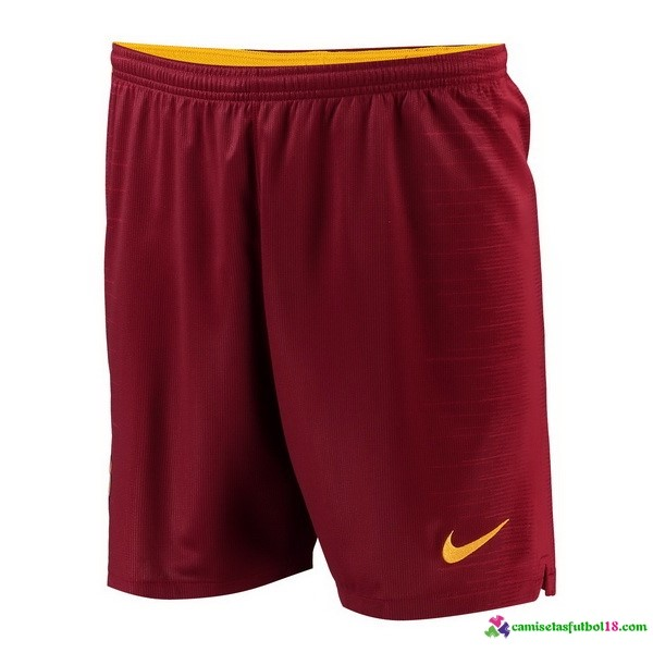 Pantalones 1ª Kit As Roma 2018 2019 Rojo