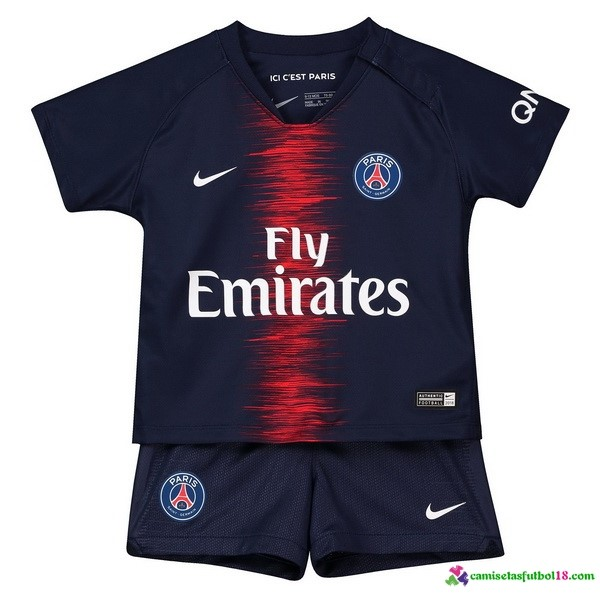 Camiseta 1ª Kit Paris Saint Germain Niños 2018 2019 Azul