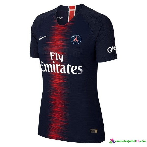 Camiseta 1ª Kit Paris Saint Germain Mujer 2018 2019 Azul