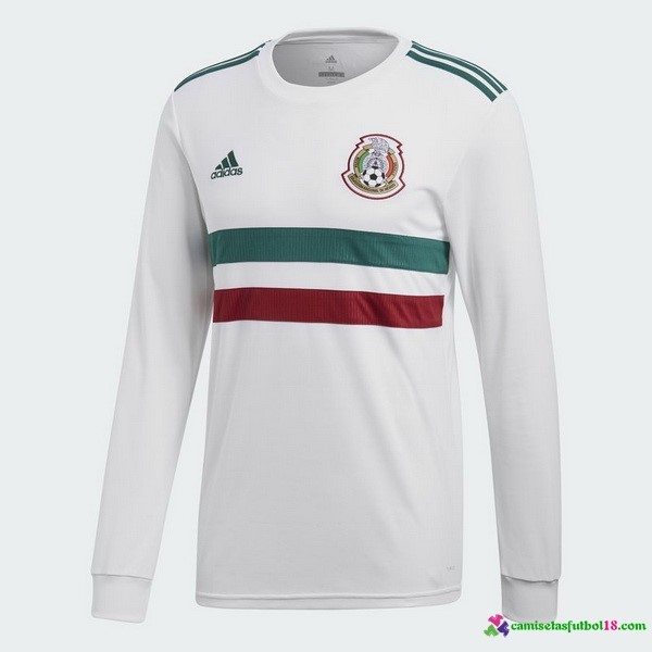 Camiseta 2ª Kit Mexico ML 2018 Blanco